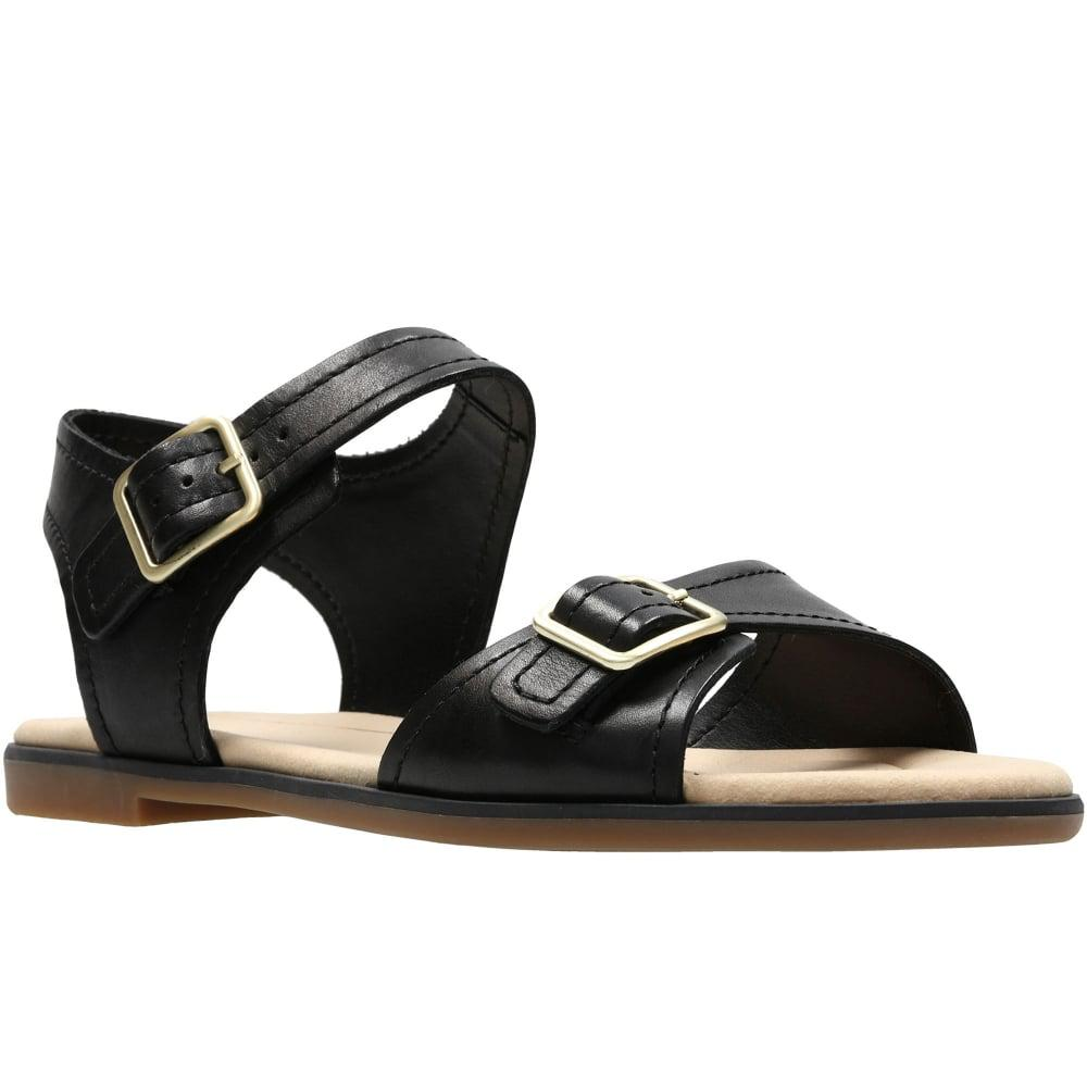 9e0d64d11e30de Lyst - Clarks Bay Primrose Womens Sandals in Black