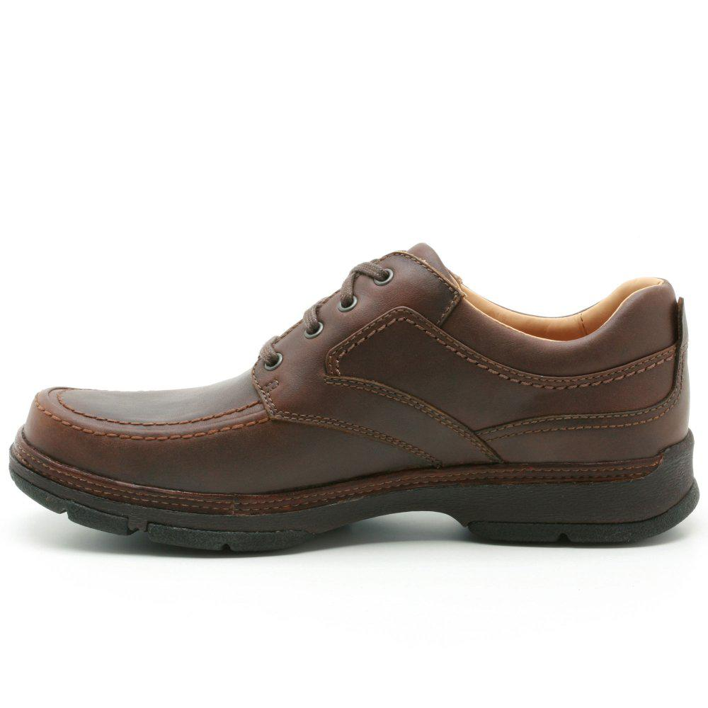98f8510059bcf Clarks Star Stride Wide Mens Casual Shoes in Brown for Men - Lyst
