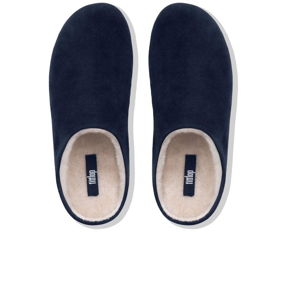 438656b06 Fitflop - Blue Chrissie Shearling Womens Slippers - Lyst. View fullscreen