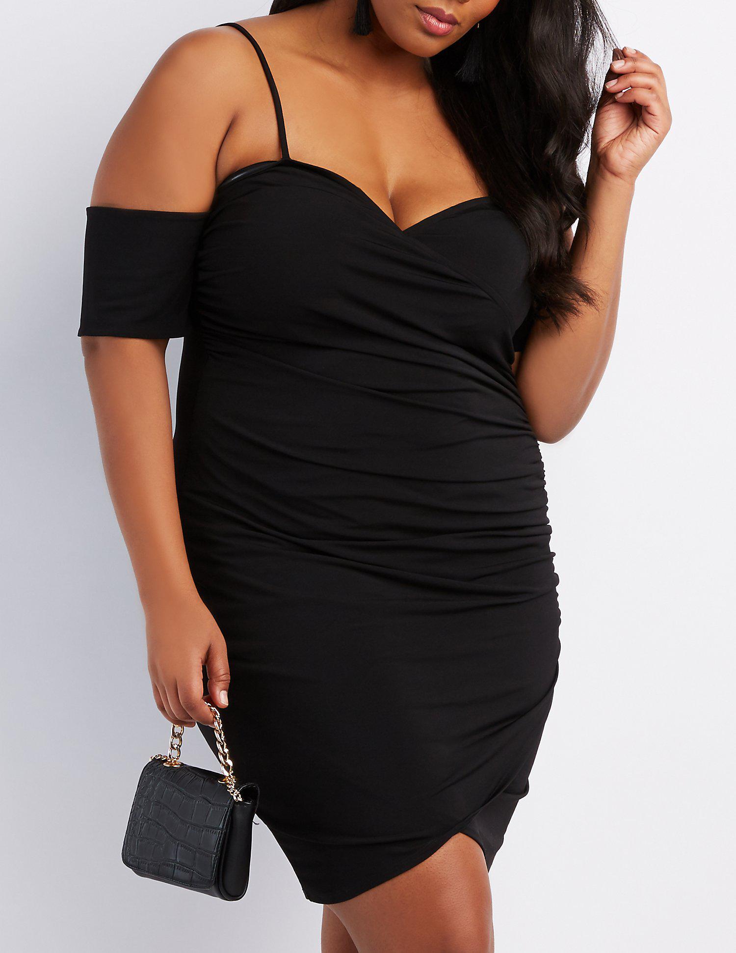 Plus Size Black Dresses Charlotte Russe - raveitsafe