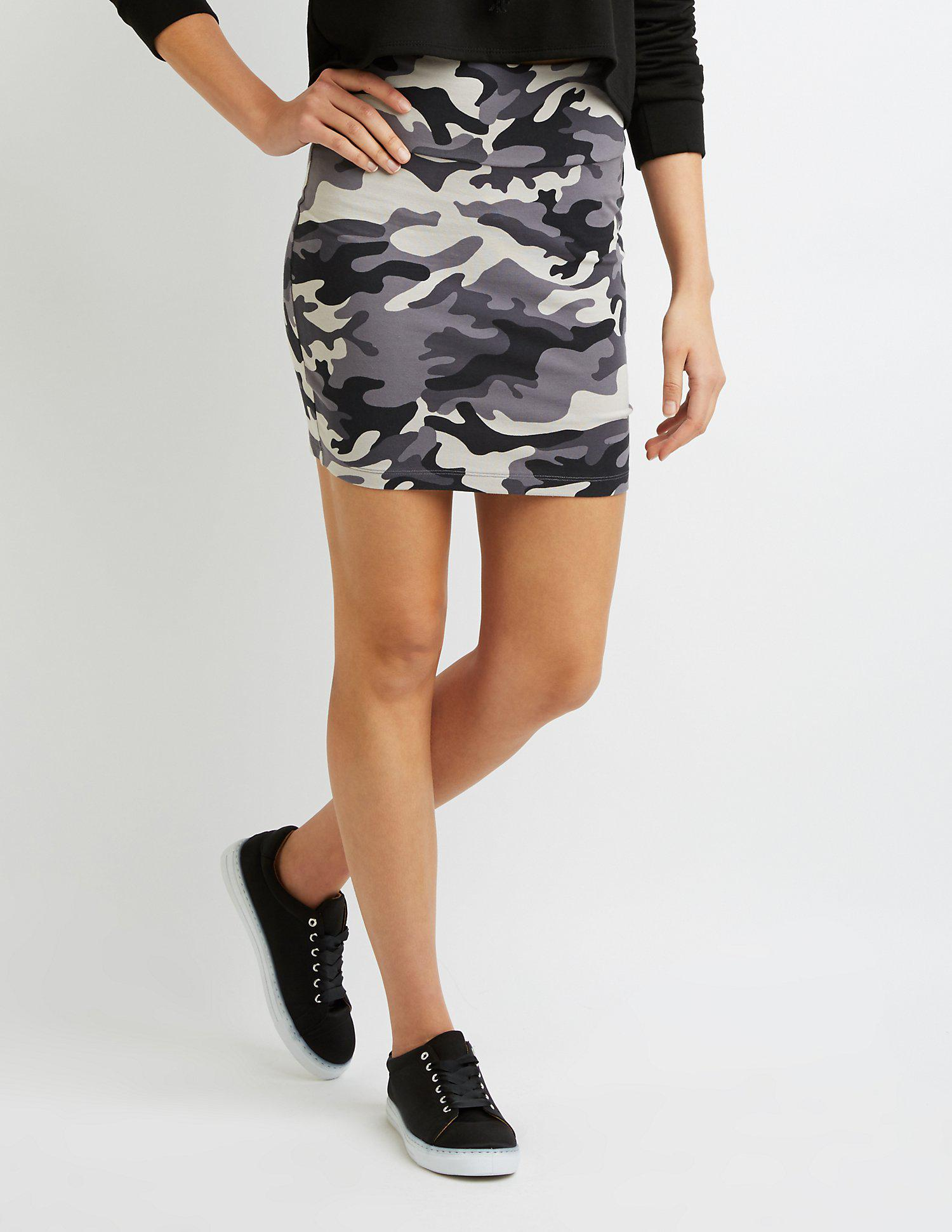 a5968d7ca1e75 Gallery. Previously sold at  Charlotte Russe · Women s Bodycon Skirts ...