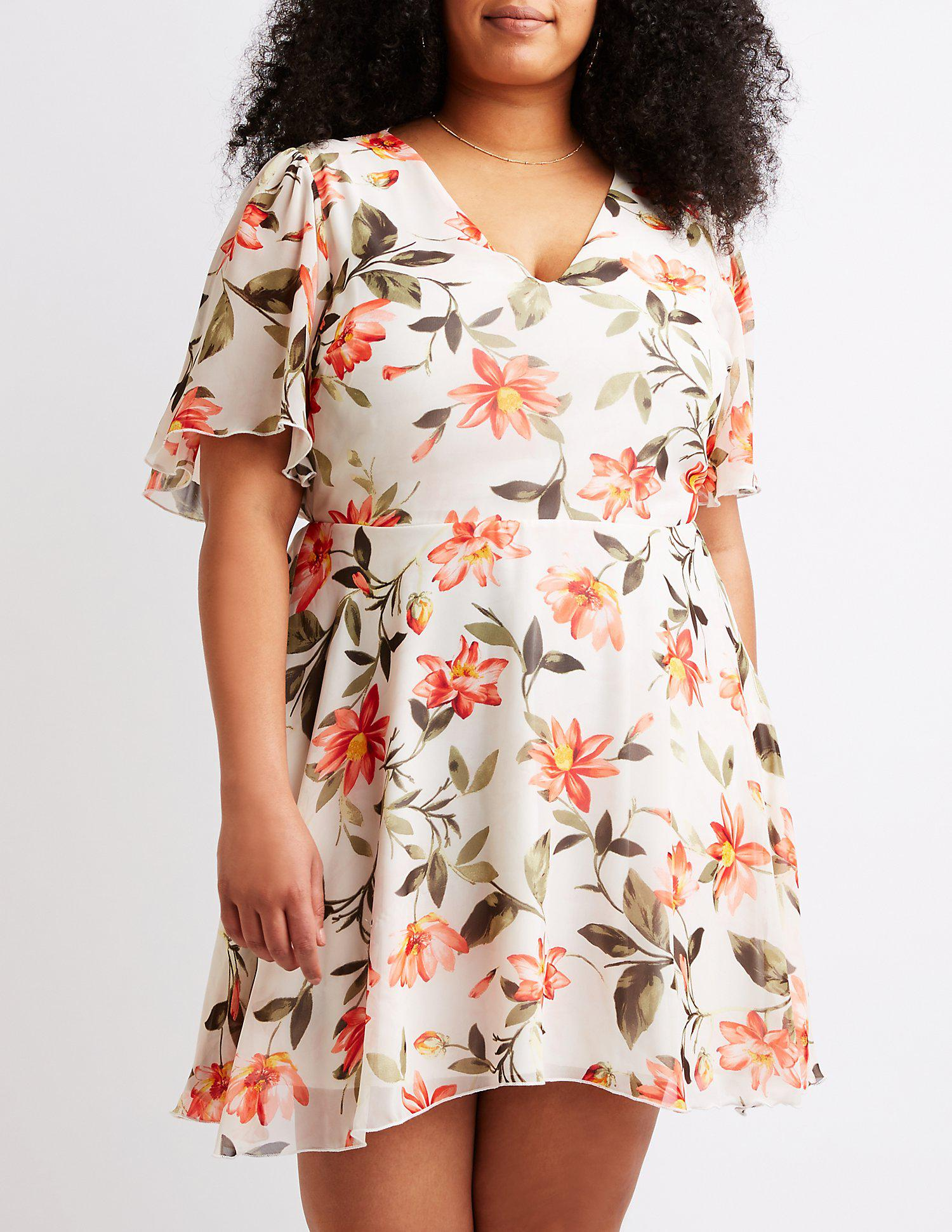 closeout floral dresses charlotte russe 0a86b 4095a