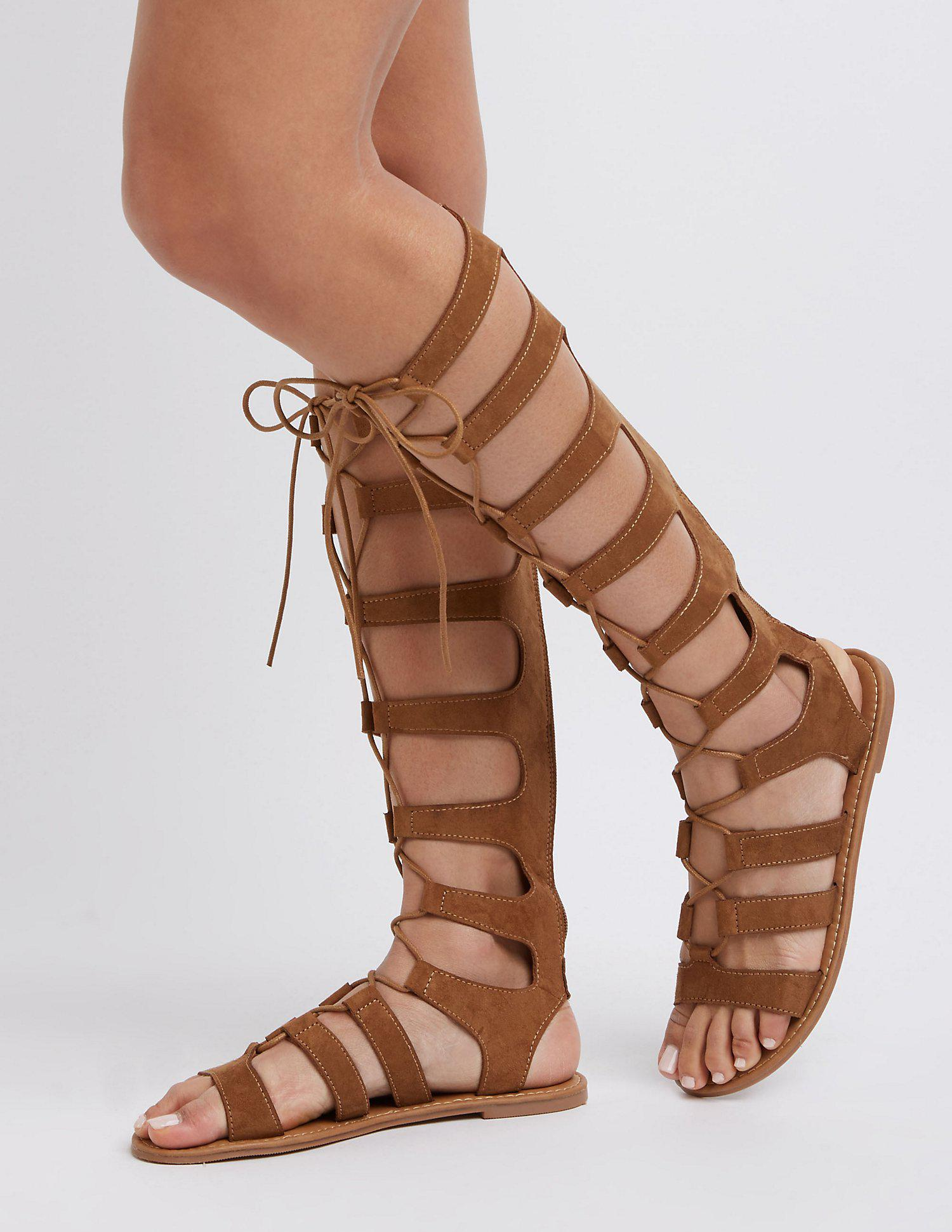 3863dd426d4e4 Gallery. Previously sold at: Charlotte Russe · Women's Gladiator Sandals  Women's Lace Up Flats