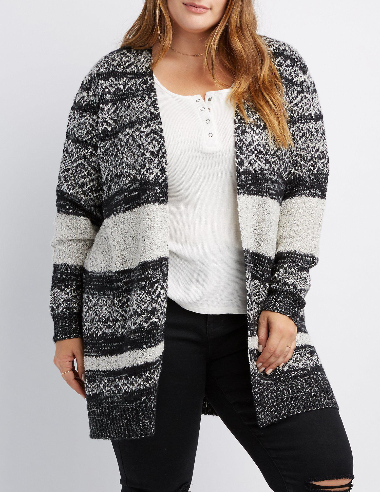 a31a4636d3 Gallery. Previously sold at  Charlotte Russe · Women s Off The Shoulder  Sweaters ...