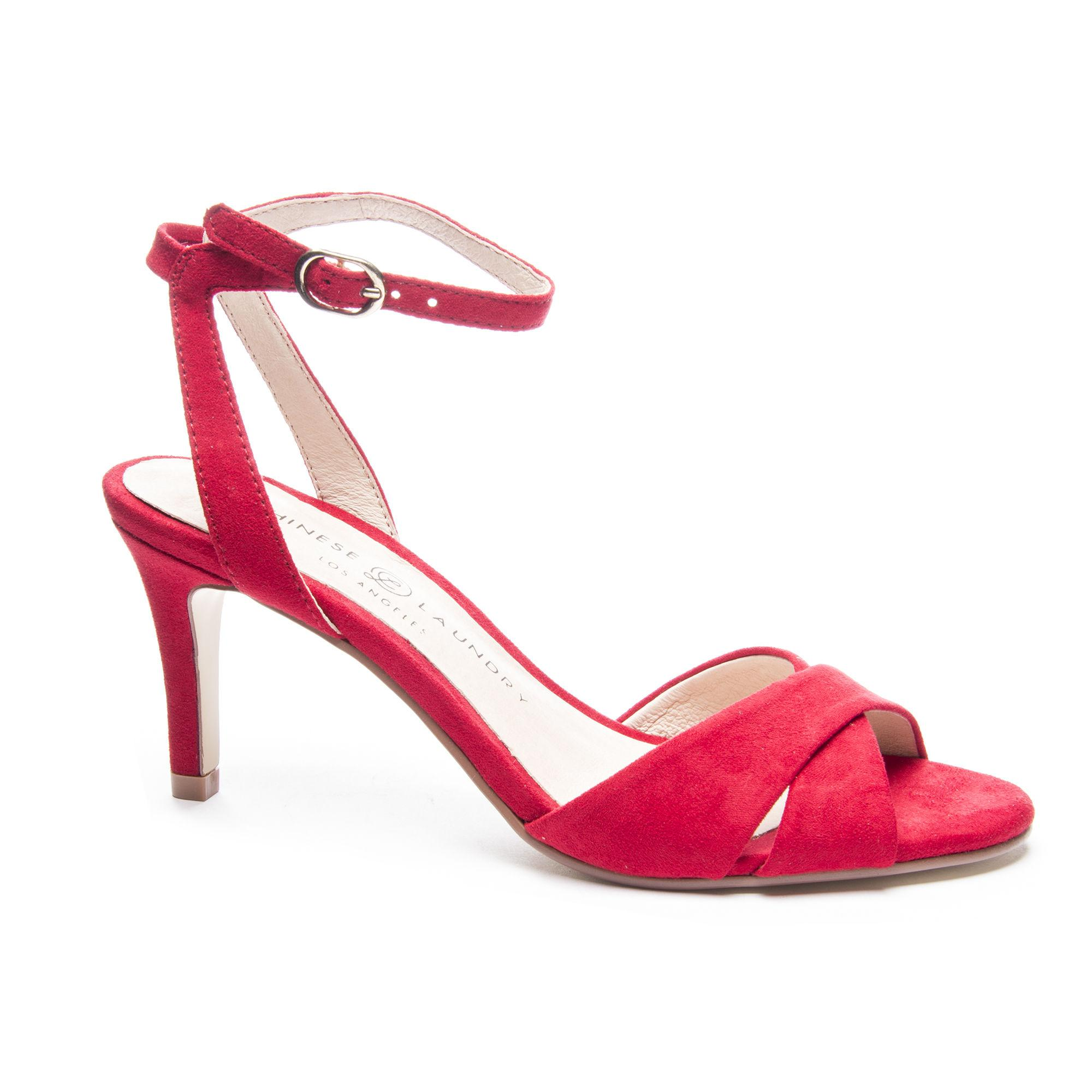 581c8d1107b Lyst - Chinese Laundry Rosita Ankle Strap Sandal in Red
