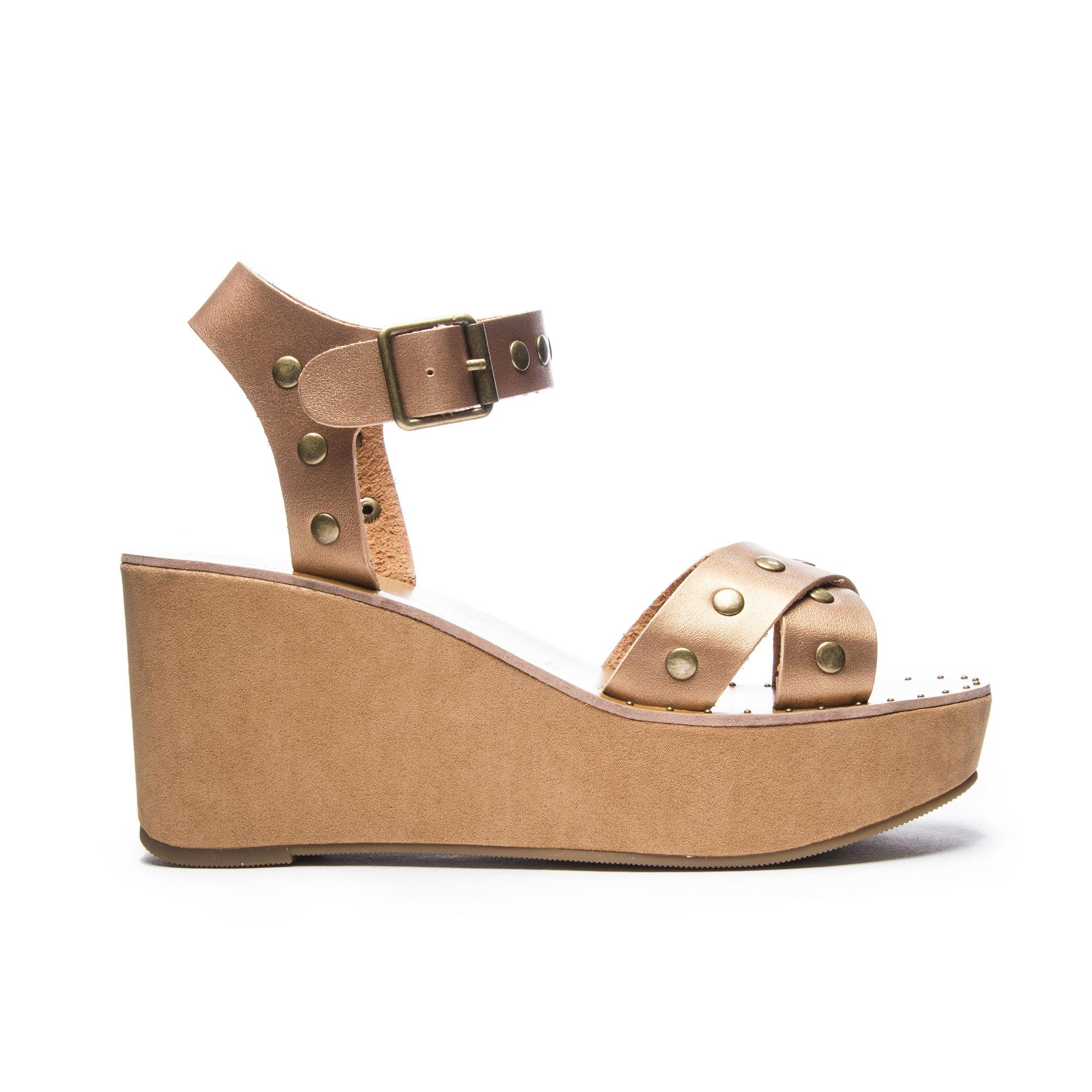 fde0439e85dc Chinese Laundry - Multicolor Ozzie Wedge Sandal - Lyst. View fullscreen