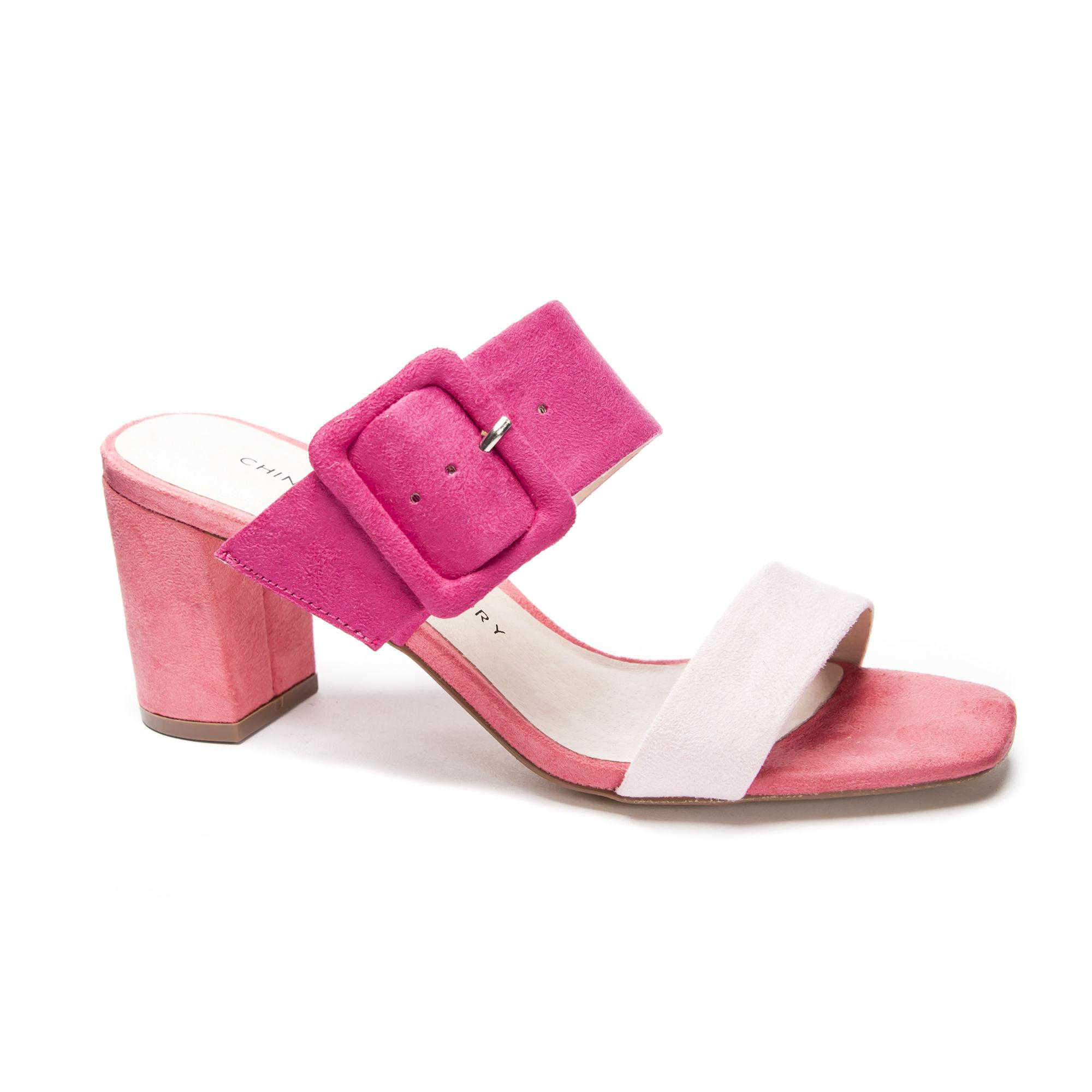 095d3eb3866 Lyst - Chinese Laundry Yippy Slide Sandal in Pink