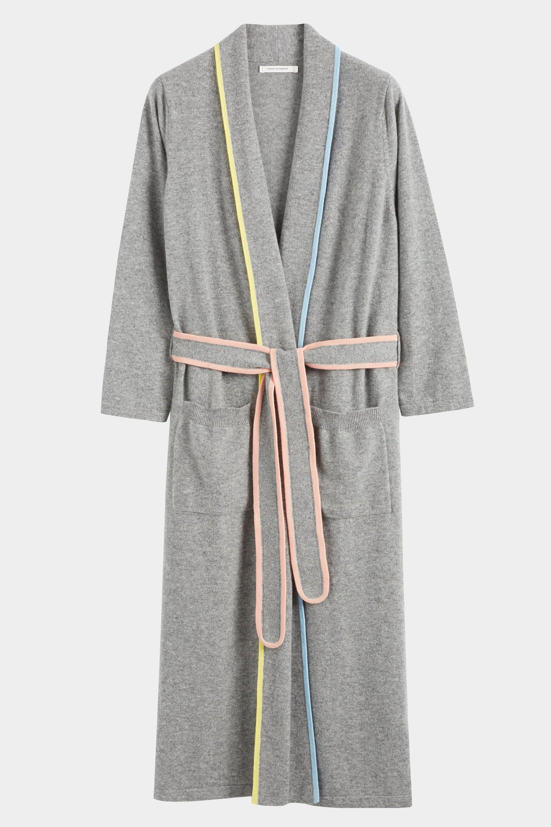 4a0c9d2ae8 Chinti   Parker - Gray Grey Cashmere Belted Dressing Gown - Lyst. View  fullscreen
