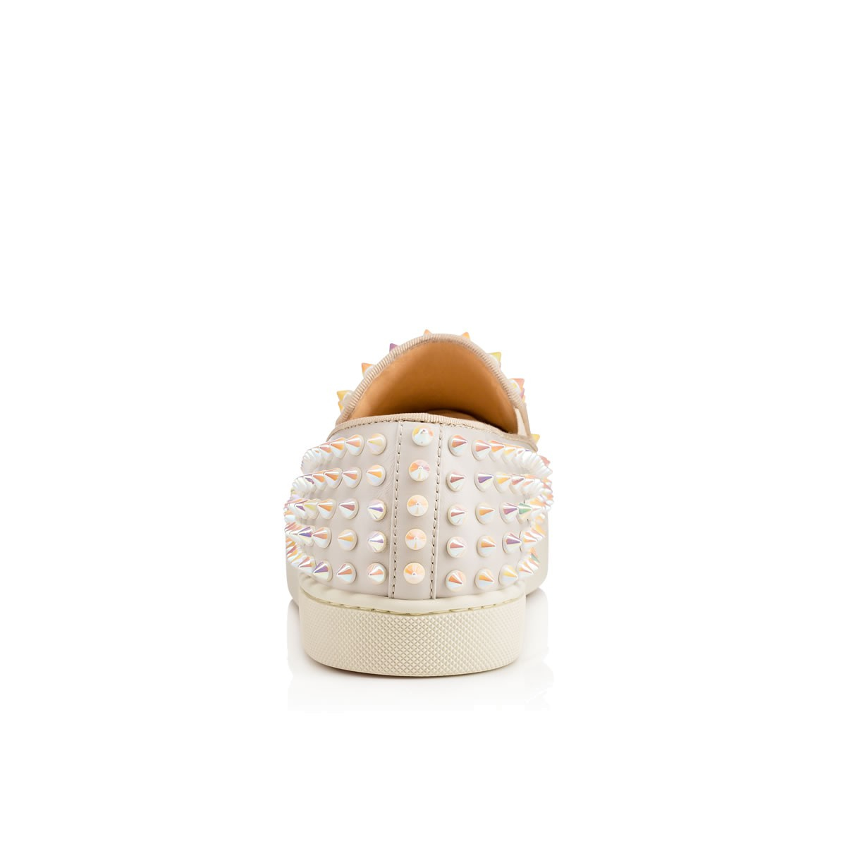 Lyst - Christian Louboutin Roller Boat Women s Flat in Natural a7fcd6f27