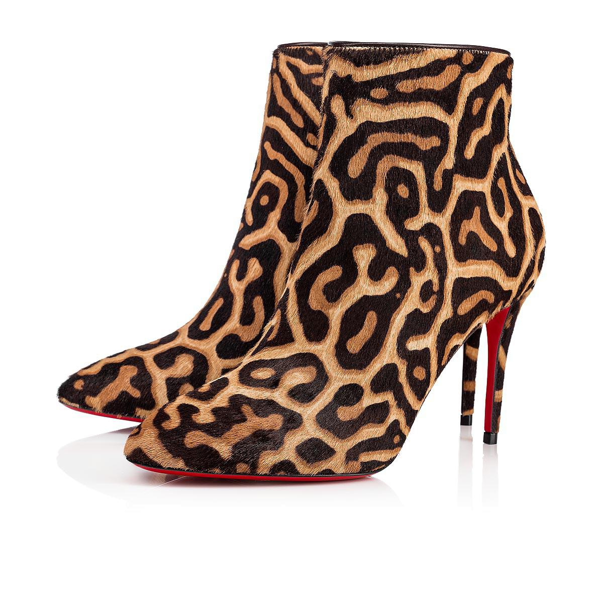 4f6ece00c891 Lyst - Christian Louboutin Eloise Booty in Brown