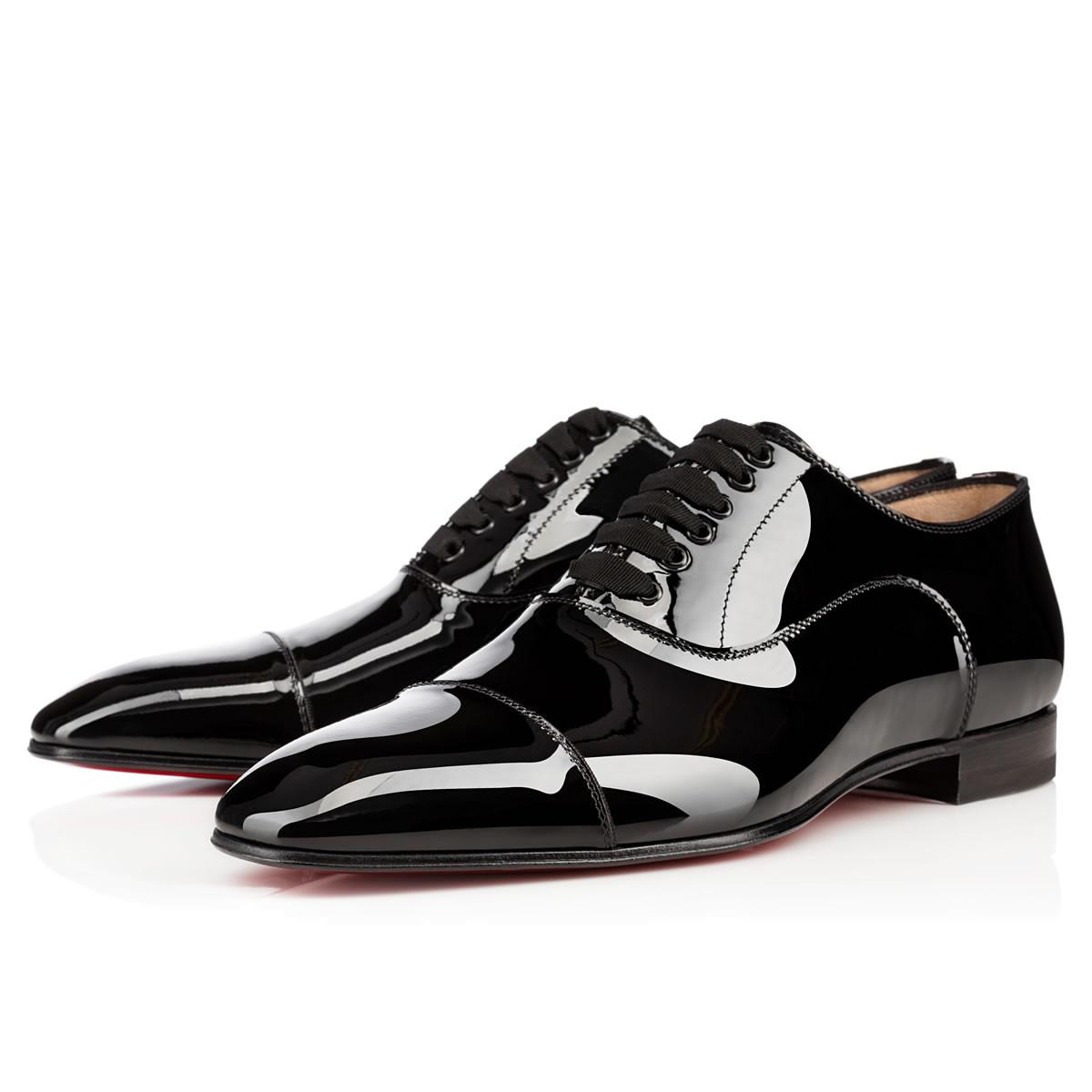9d36cef4d66 Lyst - Christian Louboutin greggo Flat in Black for Men