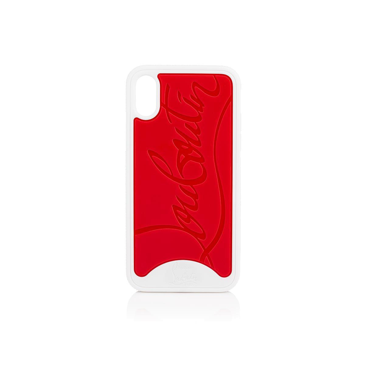 3adca086e29b Lyst - Christian Louboutin Loubiphone Iphone® X Case in Red - Save 13%