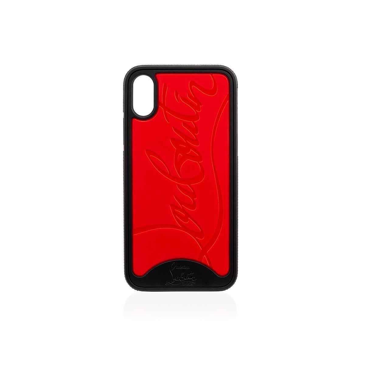 3a66a40d744d Lyst - Christian Louboutin Iphone X Loubiphone in Red - Save 24%