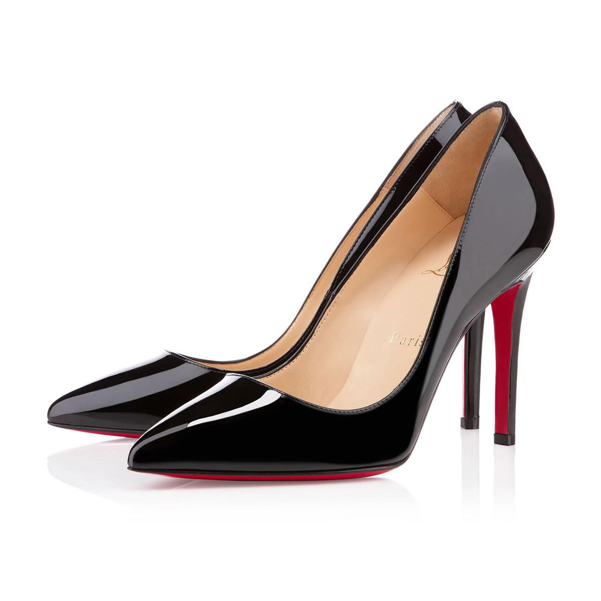 6237930208f Christian Louboutin Pigalle Patent in Black - Lyst