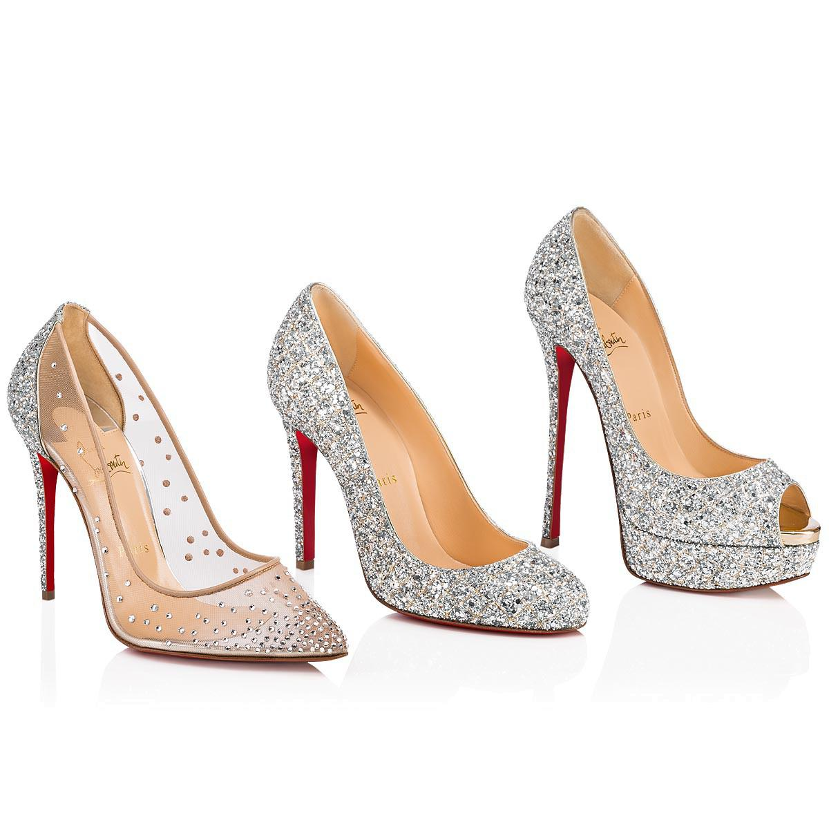 a52e2d2a43f Lyst - Christian Louboutin Fifille in Metallic