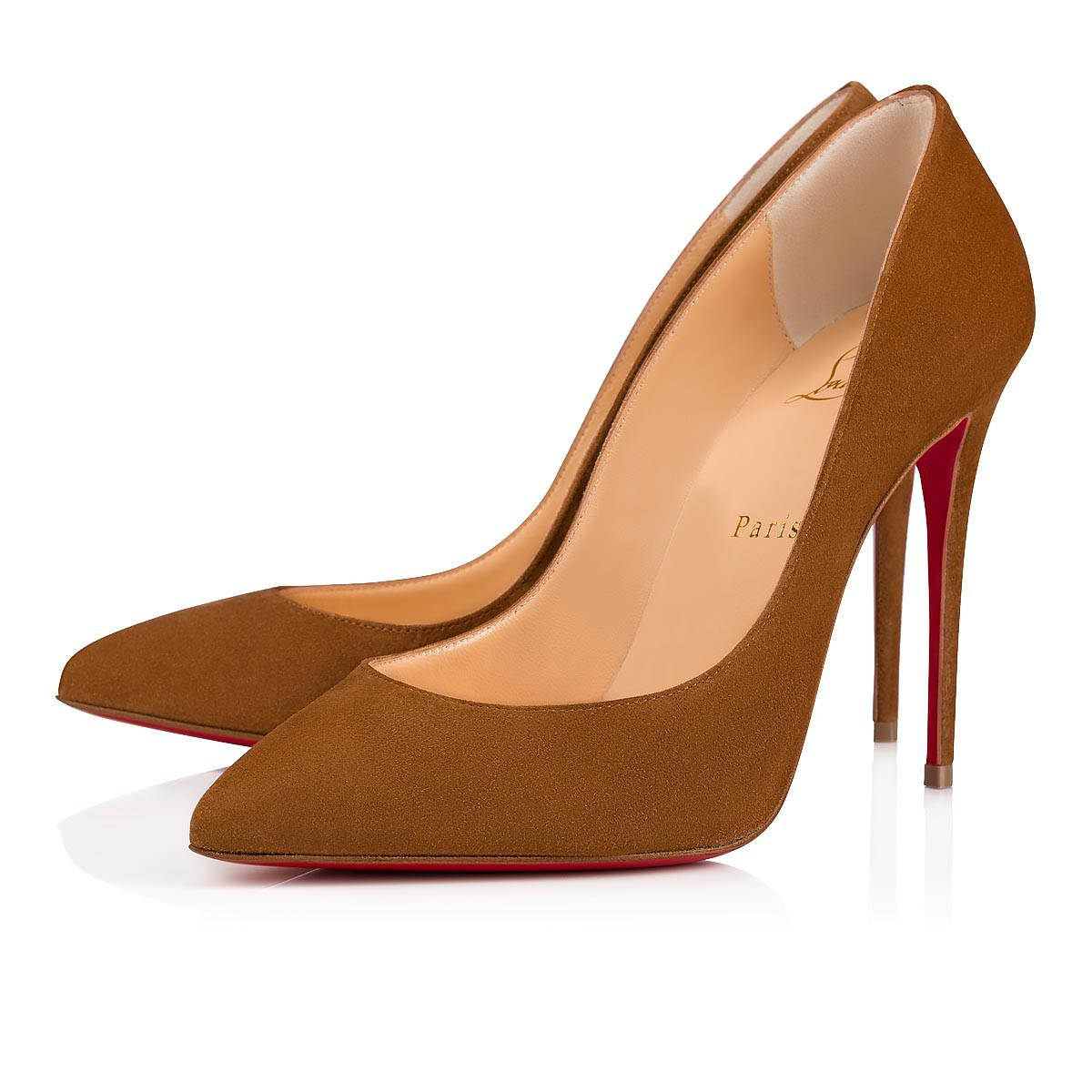 33a1944e7bba Lyst - Christian Louboutin Pigalle Follies in Brown