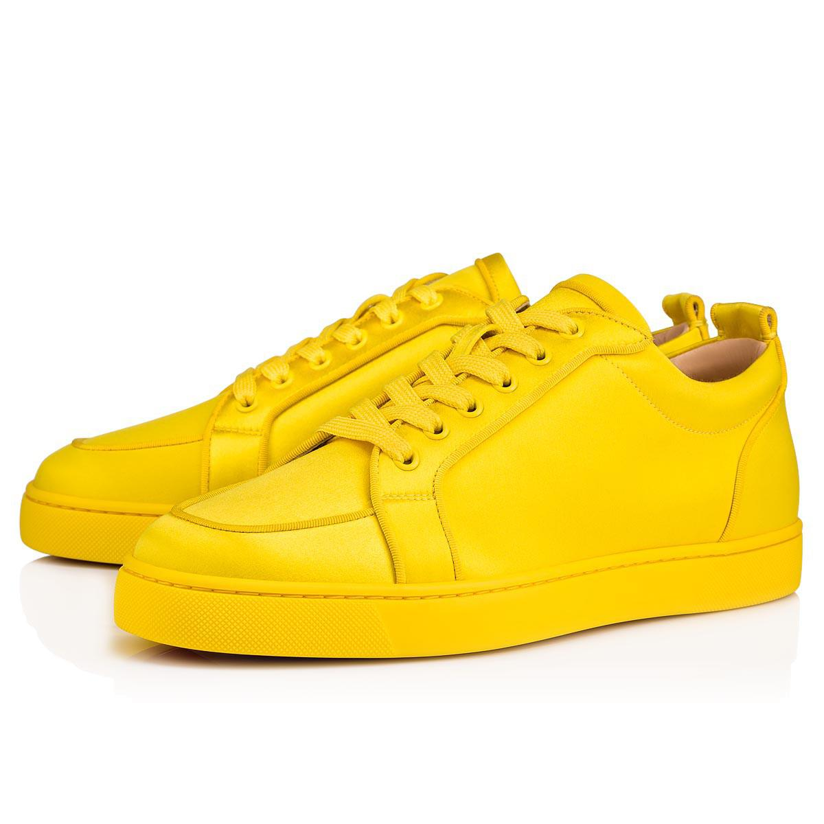 e7ded8e0afc2 Lyst - Christian Louboutin Rantulow Orlato Men s Flat in Yellow for Men