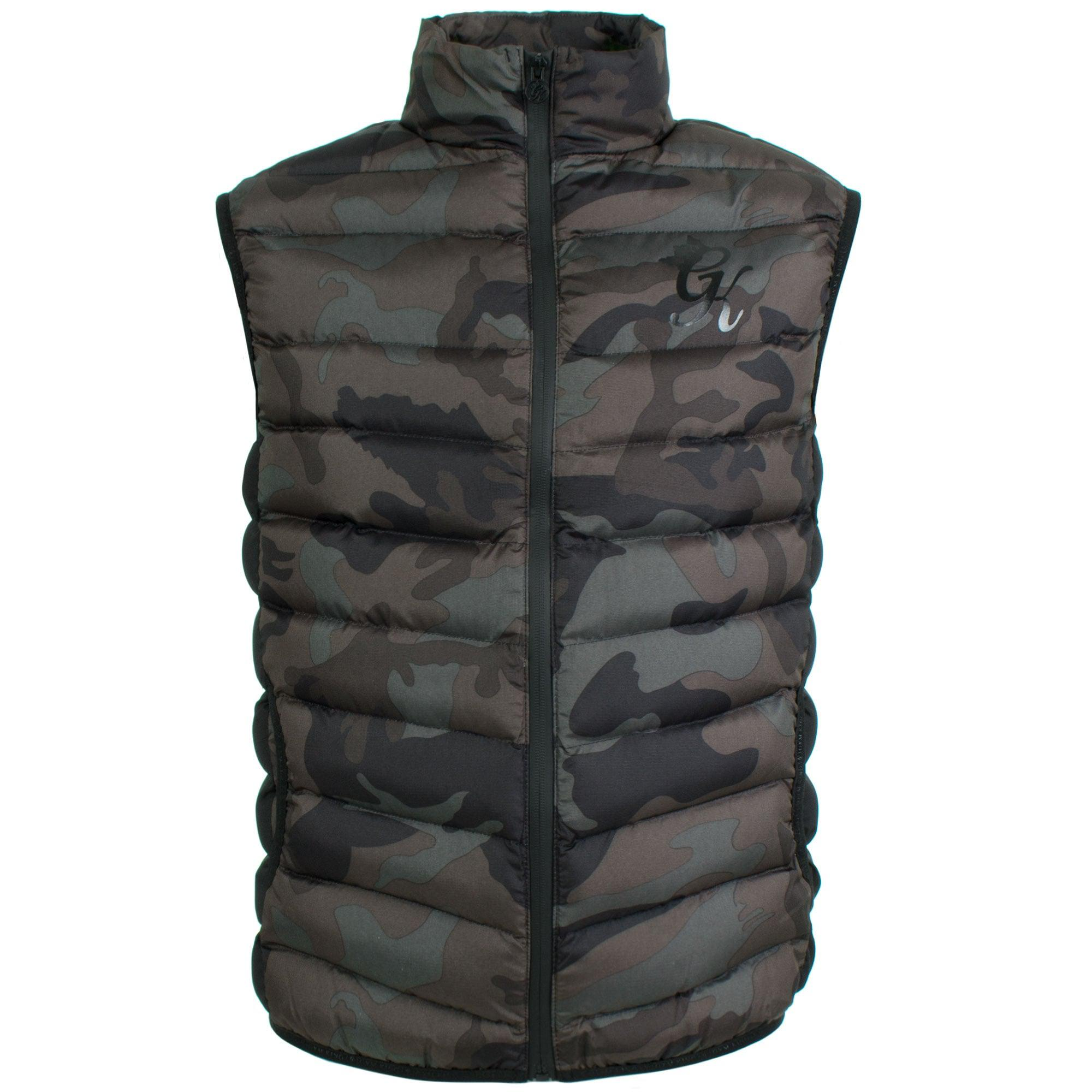 12cea3daf0d67 Gym King Core Gilet In Camo for Men - Lyst