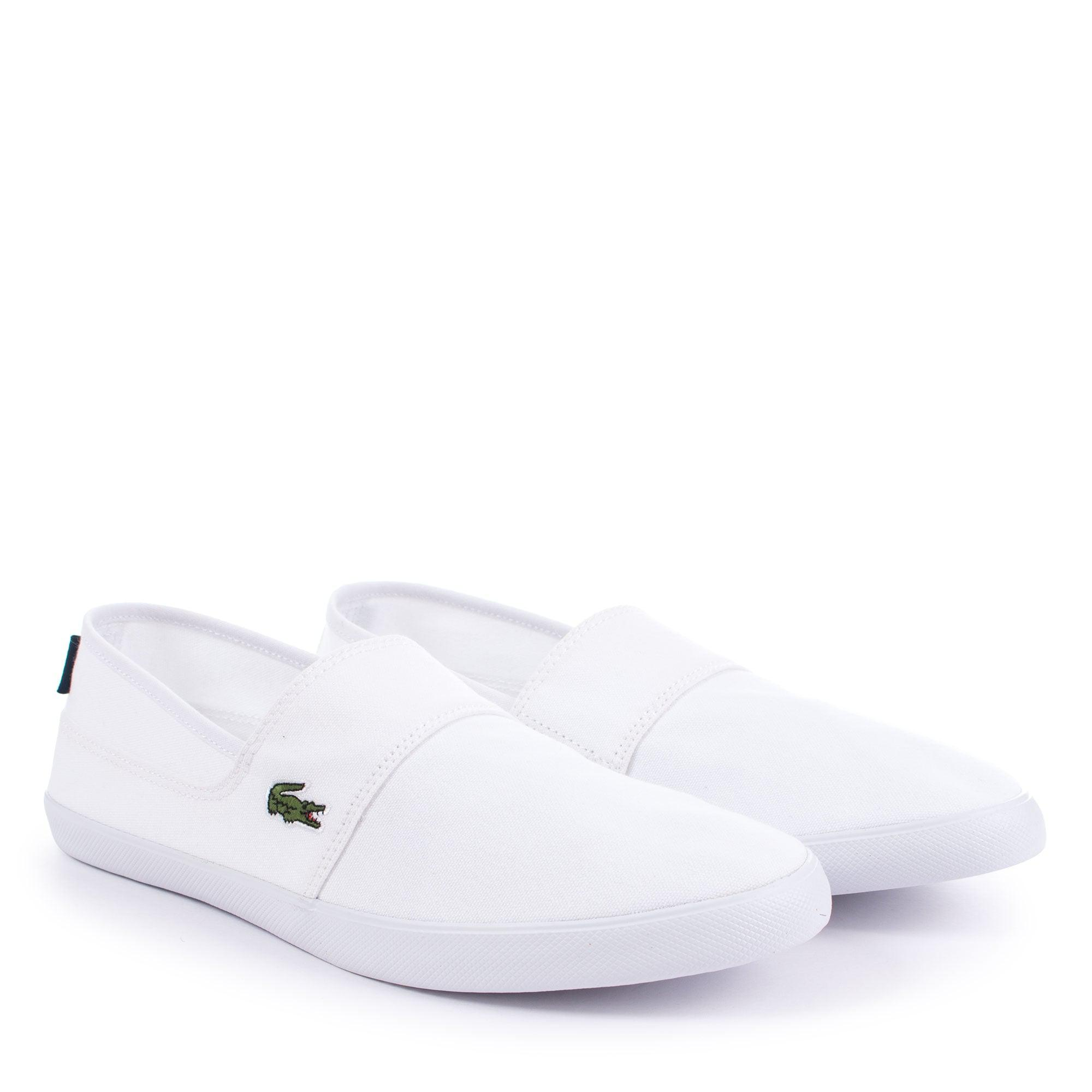 72c10a2552f6 Lacoste Marice Bl2 Cam Slip Ons in White for Men - Lyst