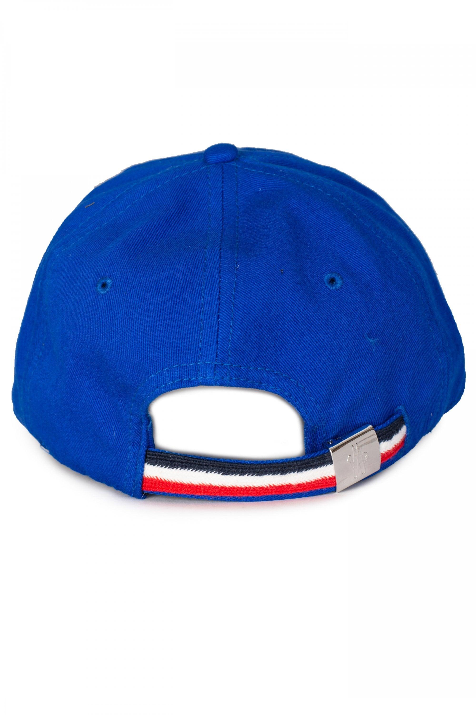 Moncler - Blue Logo Patch Baseball Cap for Men - Lyst. View fullscreen 8a061dbc7bbe