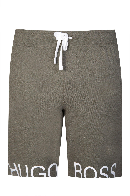 0426309d3 BOSS Hugo Identity Khaki Shorts in Gray for Men - Lyst