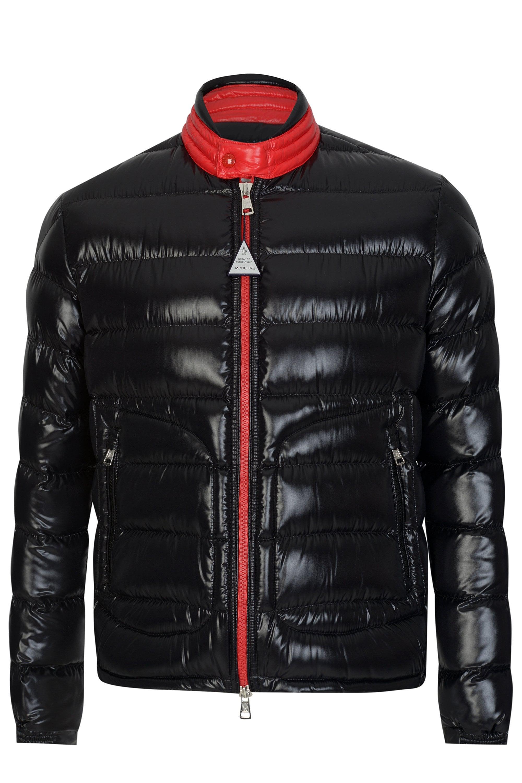 Moncler. Men's Black Aubert Jacket