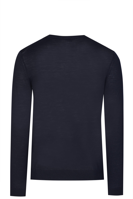 d0b545509 BOSS Hugo Leno P Knitted Sweater in Blue for Men - Lyst