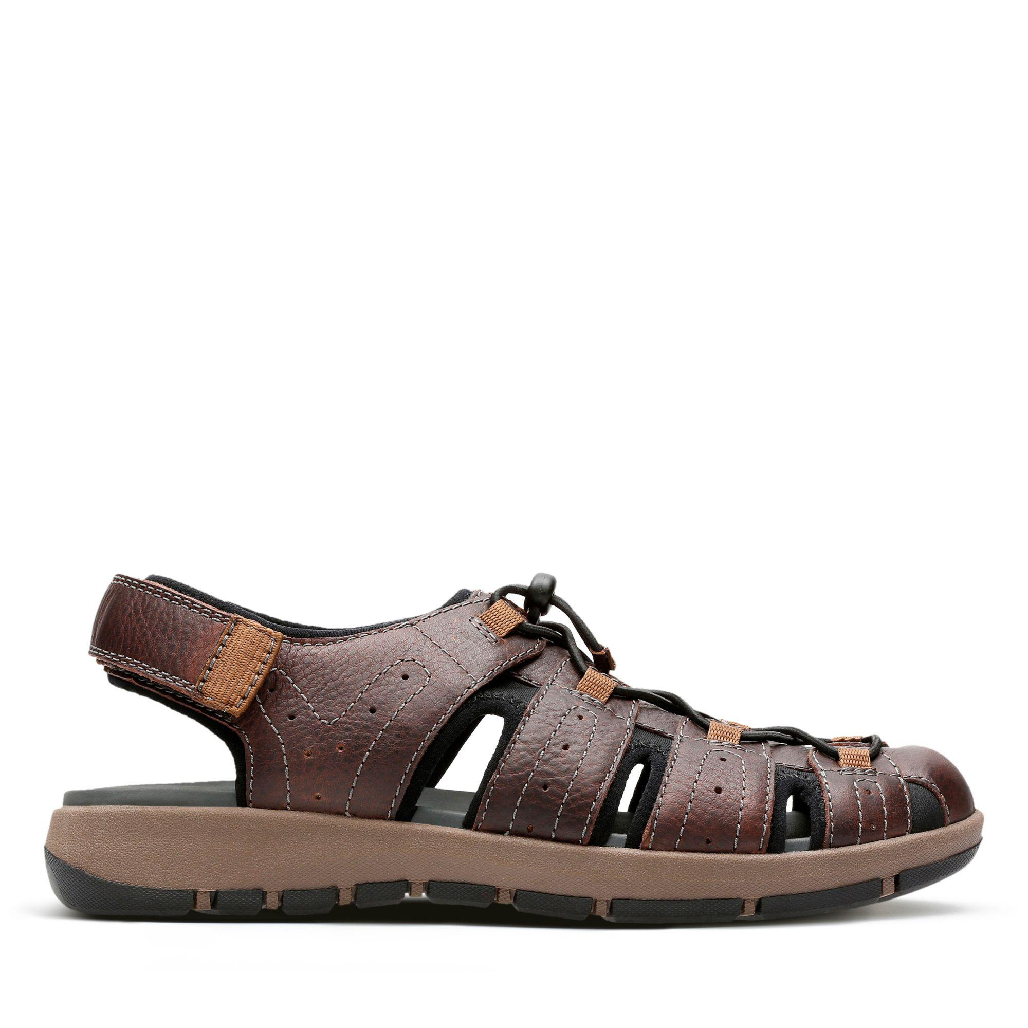 b7bd2c79613 Lyst - Clarks Brixby Cove Fisherman Sandal in Brown for Men - Save 20%