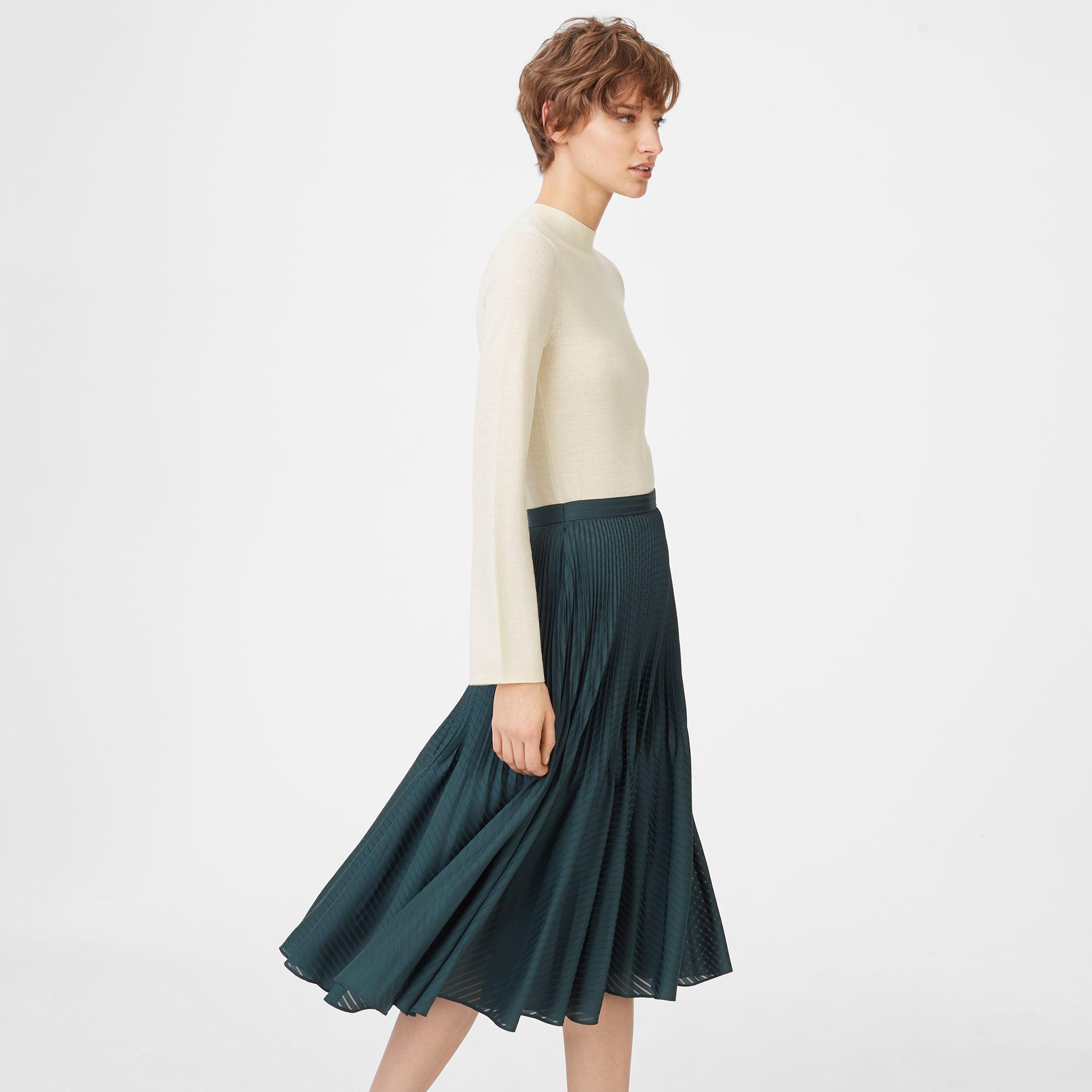 5c7064f0c284 Club Monaco Yowshee Skirt in Green - Lyst