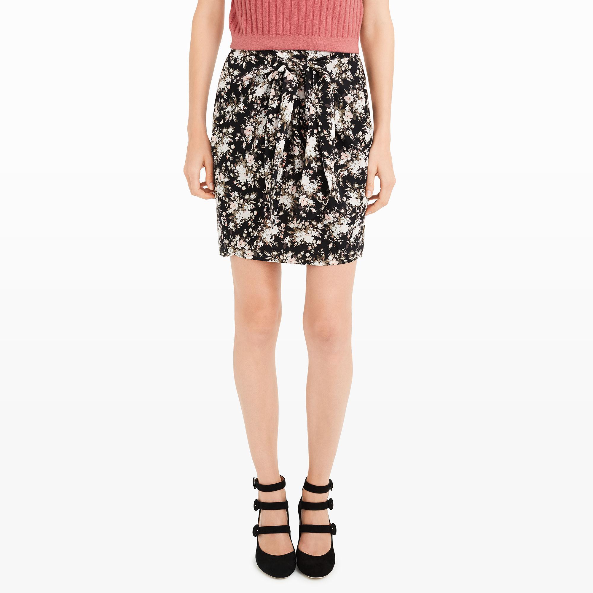 687d4d9c691fa1 Club Monaco Layli Skirt in Black - Lyst