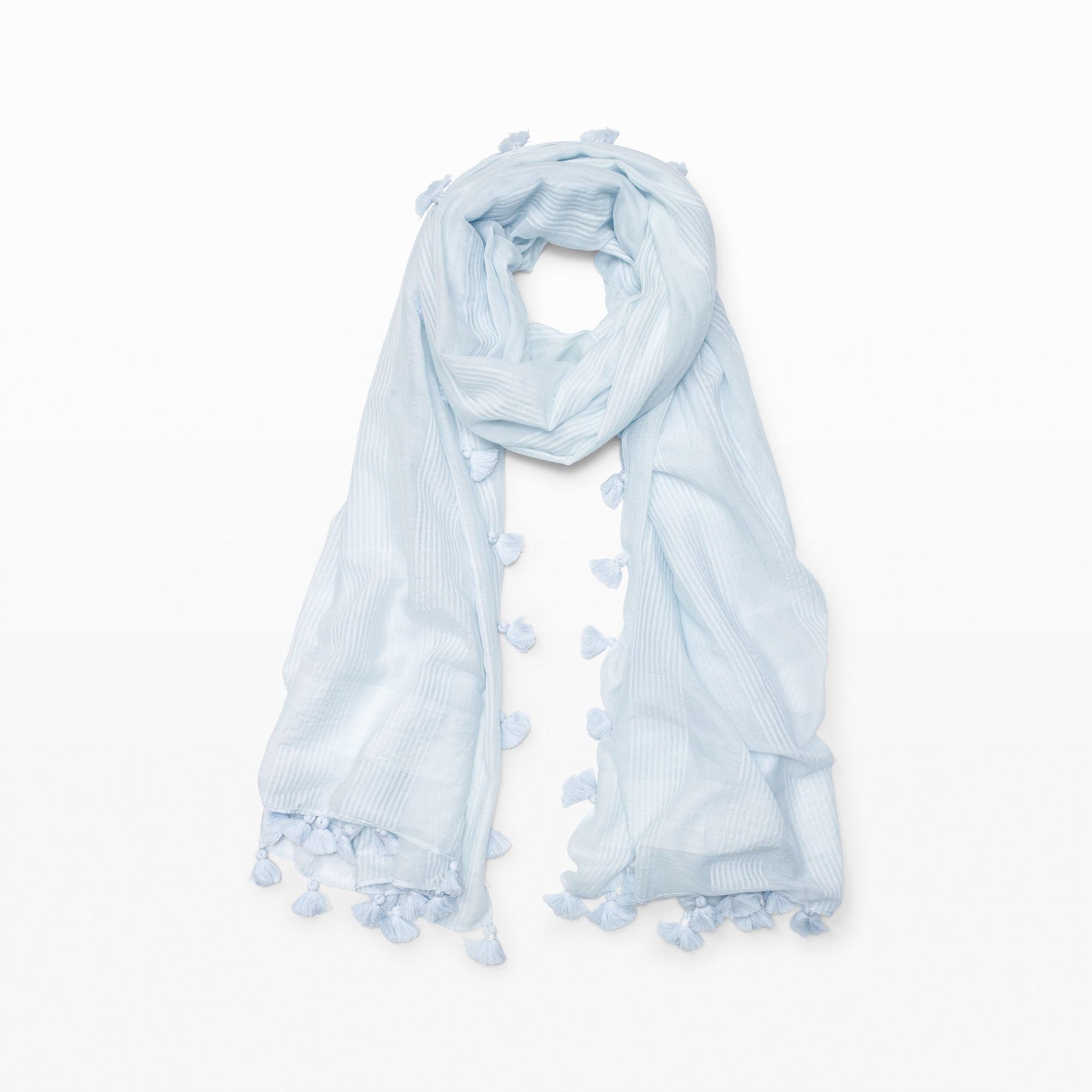 club monaco marlyn scarf in blue lyst
