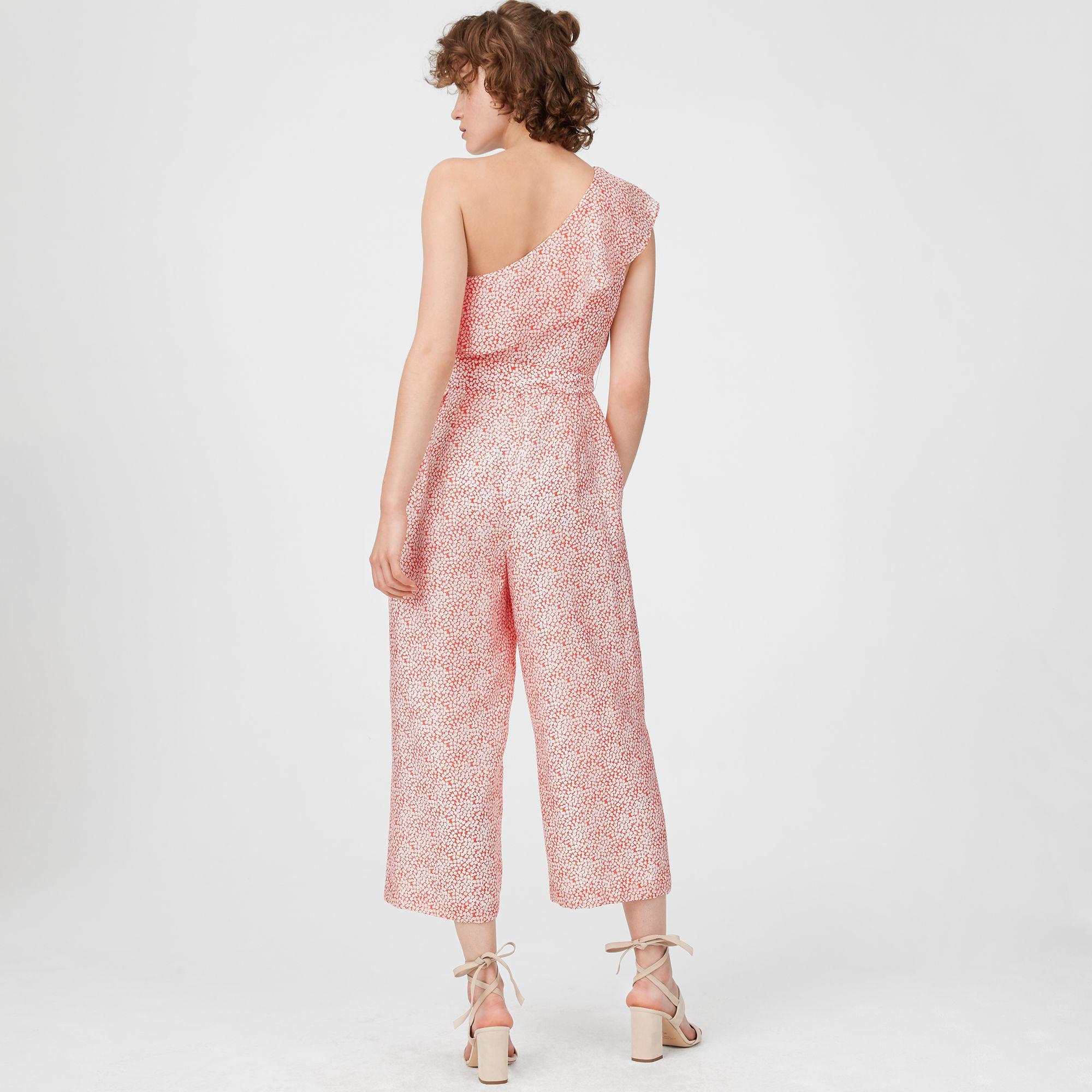 ed600fe07c7 Lyst - Club Monaco Lene Printed Jumpsuit in Pink