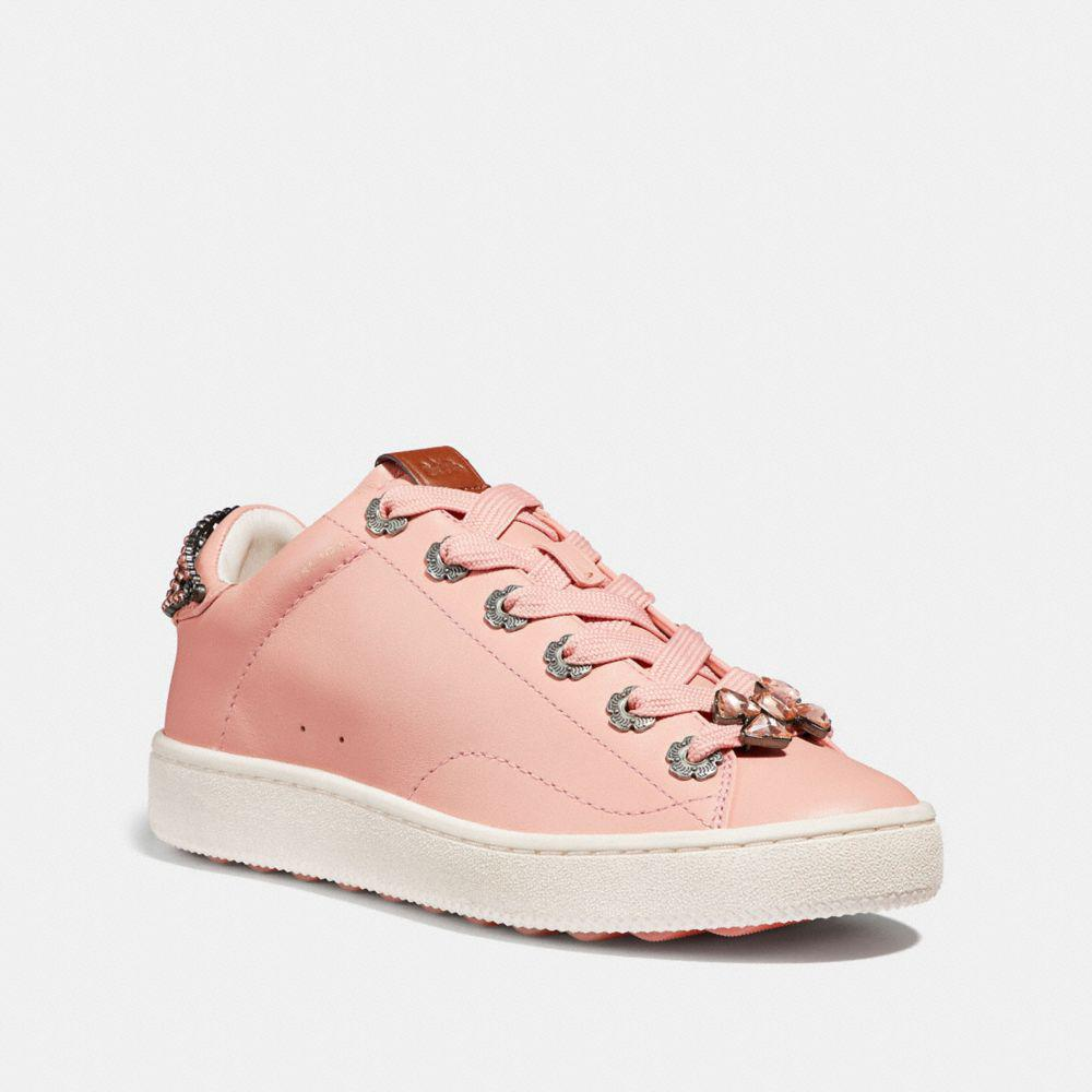 c3c3733d4b68 Coach C101 Low-top Sneakers in Pink - Save 27.41935483870968% - Lyst