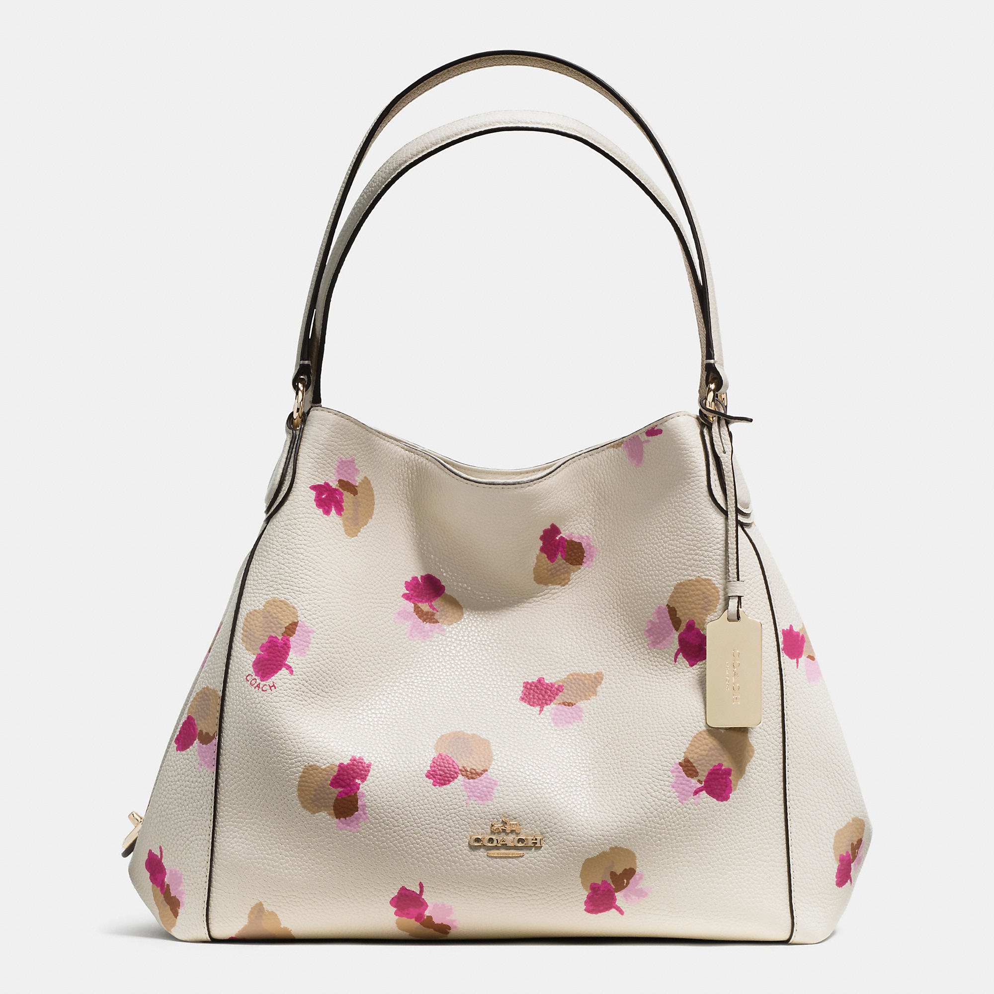 COACH Edie Shoulder Bag 31 In Floral Print Leather - Lyst 24f0dbc64c339