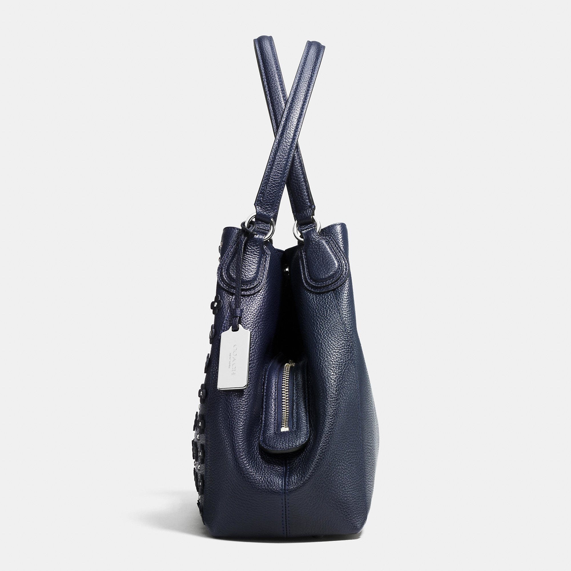 fe58014ba8db coach edie shoulder bag 31 in floral rivets leather