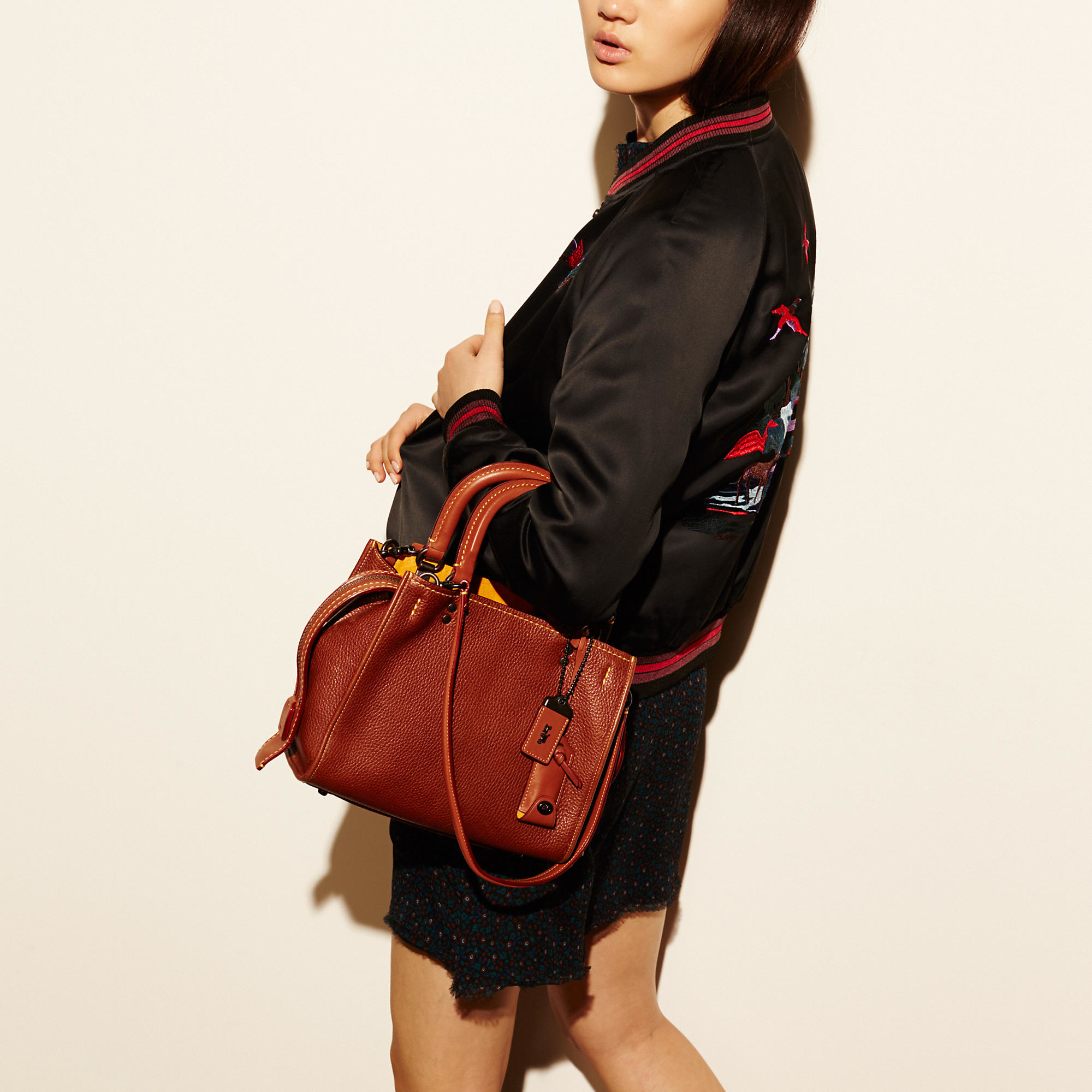 Lyst Coach Rogue Bag 25 In Glovetanned Pebble Leather In