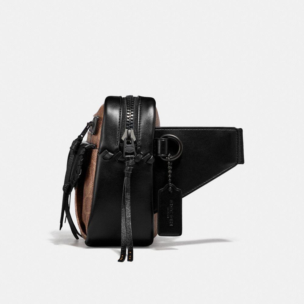 a96efb212b COACH Utility Belt Bag 25 In Signature Canvas in Black for Men - Lyst
