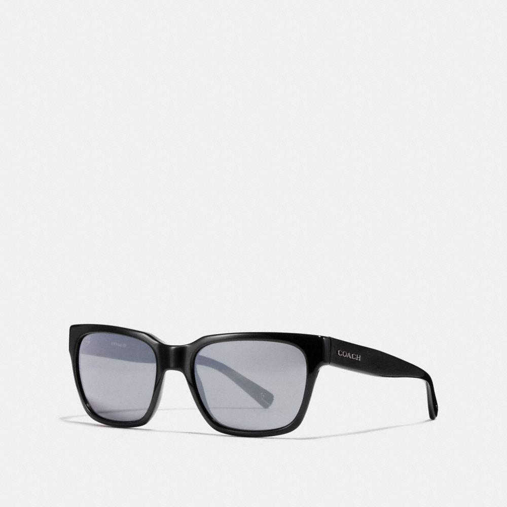 17e4c51d2a Lyst - COACH Leroy Sunglasses in Black for Men