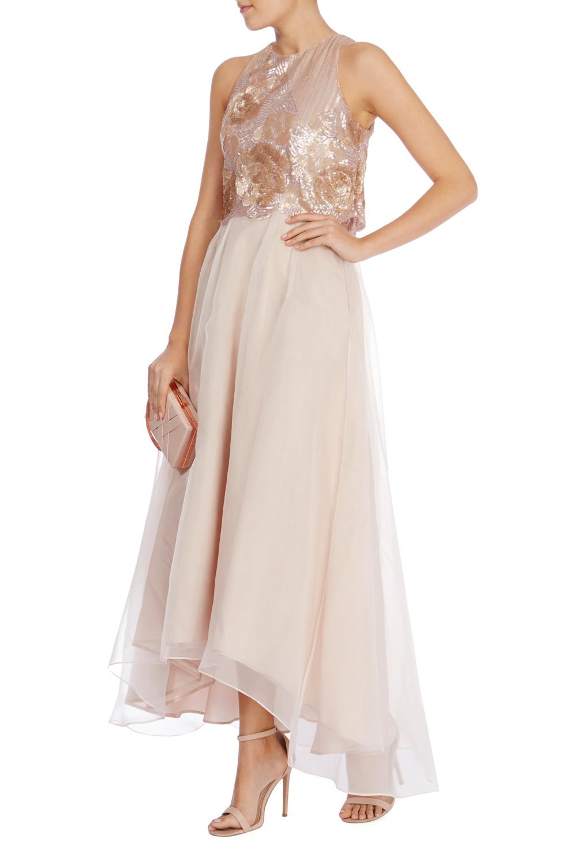Coast Zitana Embellished Dress In Pink Lyst