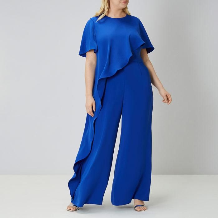 hot-seeling original look good shoes sale suitable for men/women Women's Blue Kara Jumpsuit Cc