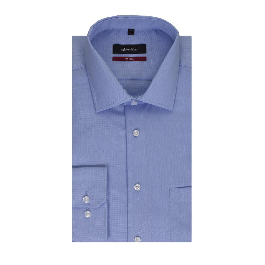 Fit Formal Seidensticker Modern Shirt In For Blue Men Lyst dxeErCoWQB