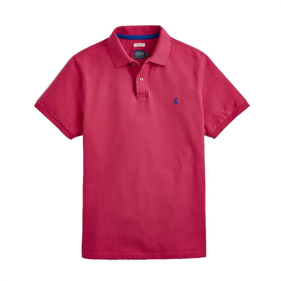 Joules Kingsfield Classic Fit Mens Polo Shirt (v) L Wine AxxBU1