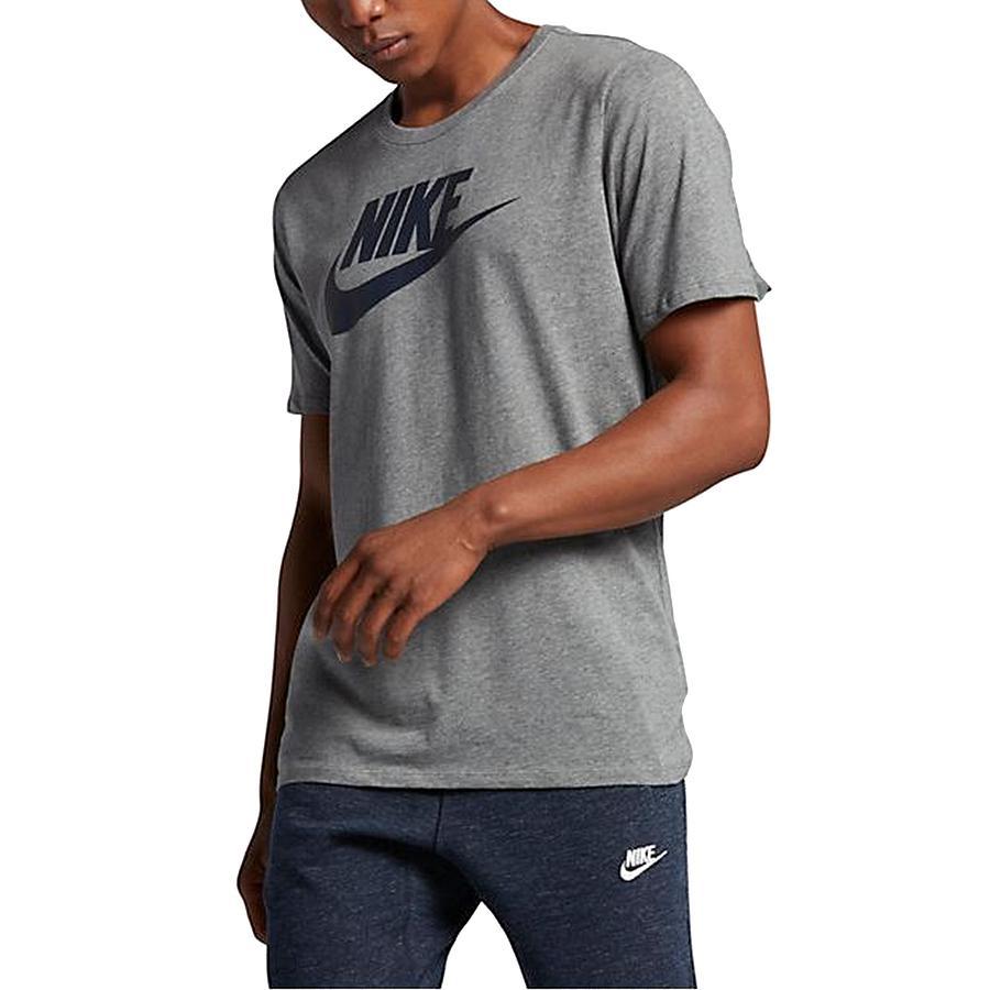 Nike Nsw Tee Icon Futura in Gray for Men - Lyst 44696f20e8