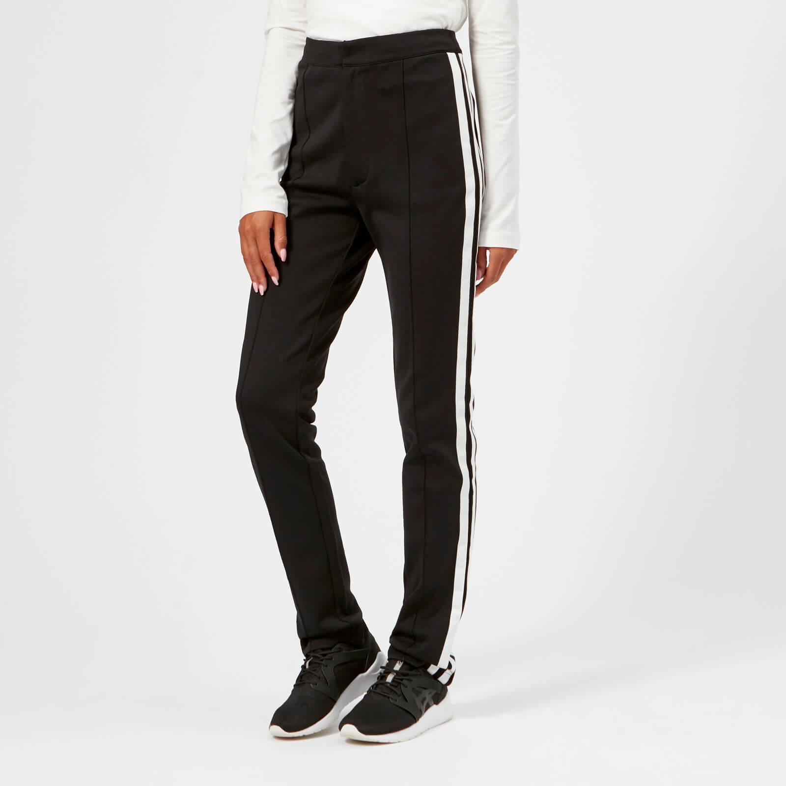 9f026d1cd4b9c Y-3 - Black Matt Track High Waist Pants - Lyst. View fullscreen