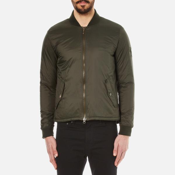 Lyst Barbour Men S Oil Field Quilt Jacket In Green For Men