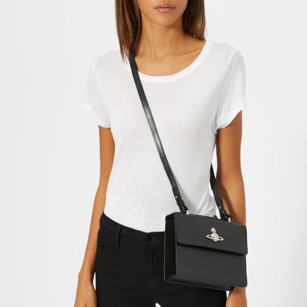 Lyst - Vivienne Westwood Women s Matilda Medium Shoulder Bag in Black 8bc189708b560