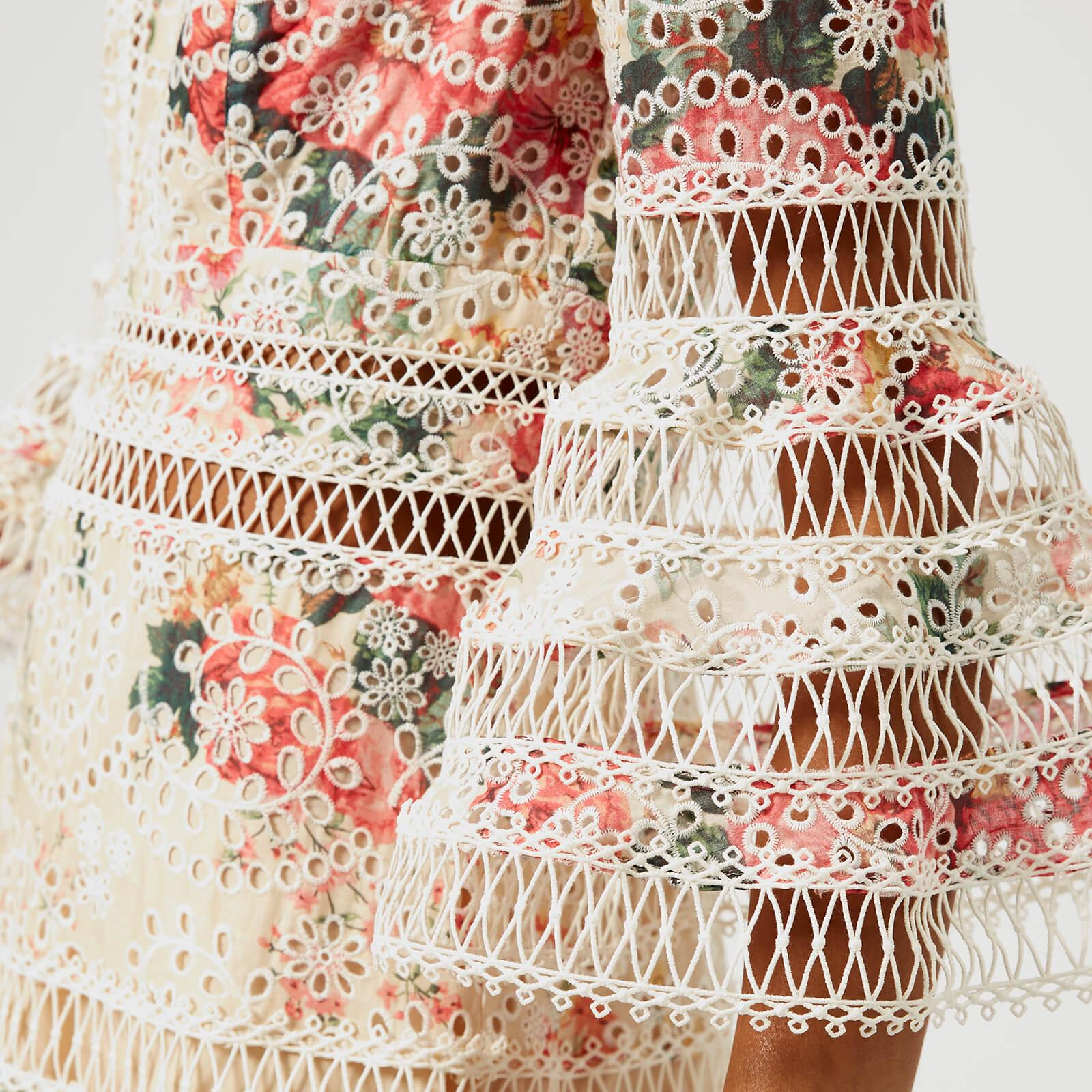 8e5cbe9ee7e513 Zimmermann - Multicolor Laelia Diamond Flutter Dress - Lyst. View fullscreen