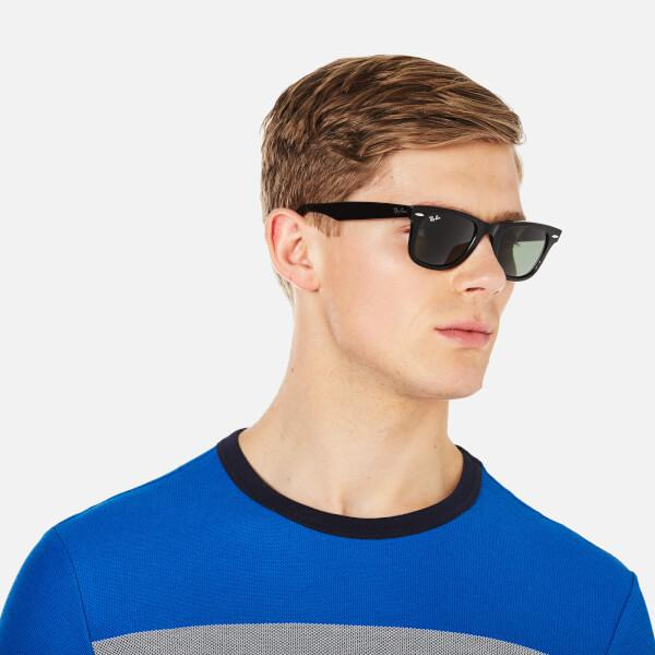 aeda368f2c6bb Ray-Ban - Rayban Original Wayfarer Sunglasses Black for Men - Lyst. View  fullscreen