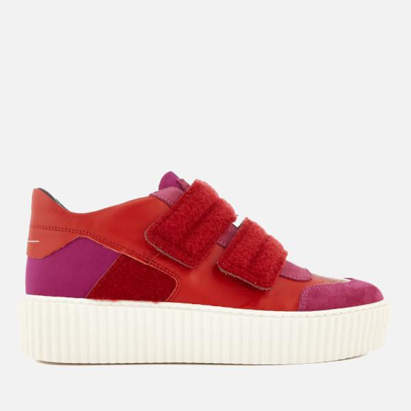 Red Chunky Sole Sneakers Maison Martin Margiela mfOpNfH