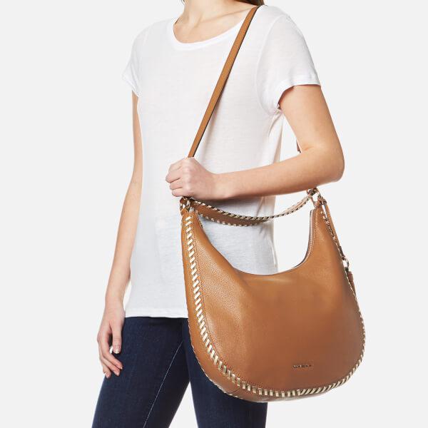 acb6e70c4f1da9 MICHAEL Michael Kors Women's Lauryn Large Shoulder Bag in Brown - Lyst